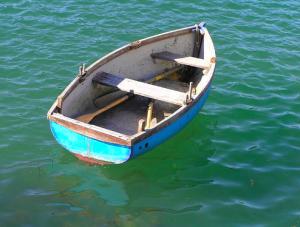 boat unmoored