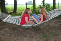 Steff and Katie - hammock