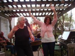 christine dancing