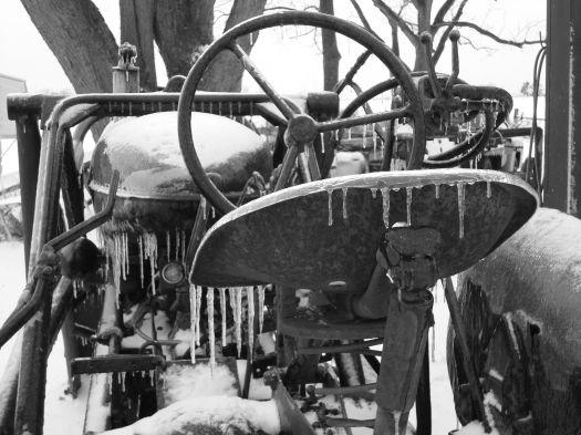 cold tractor seatbw