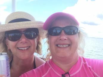 gwen and christine cruise